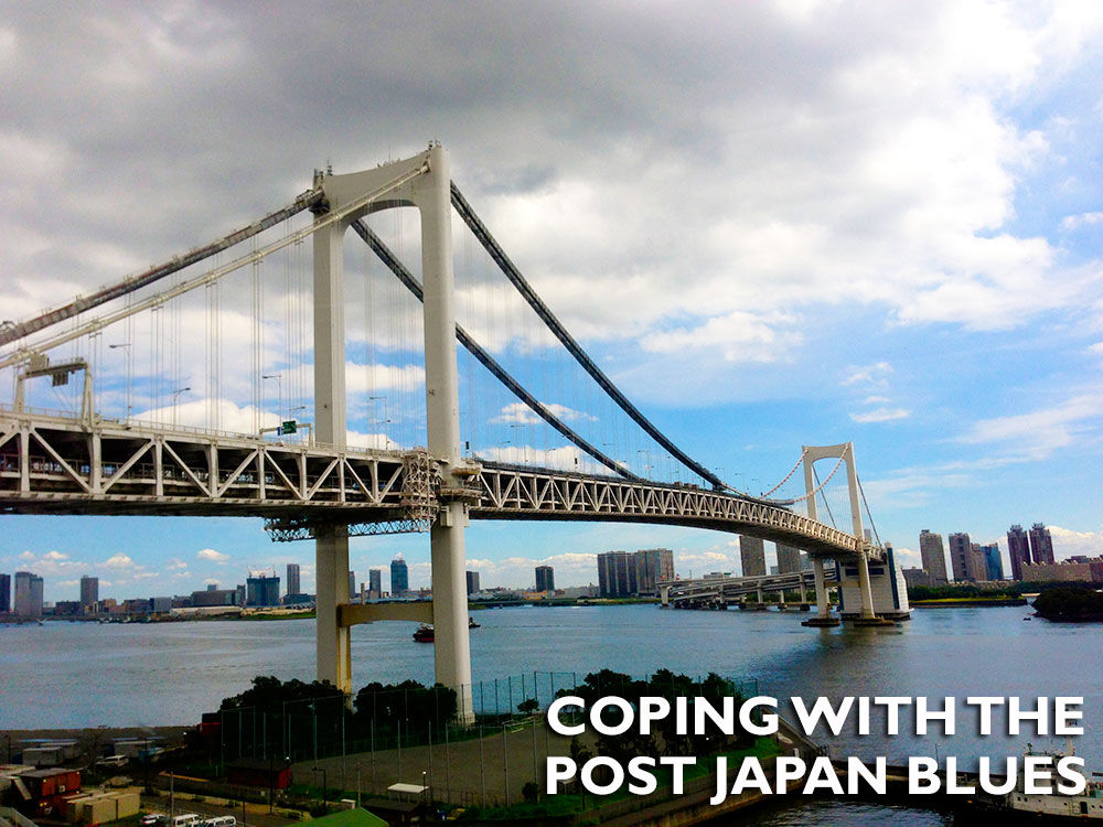 Japlanning, Coping with the post Japan Blues