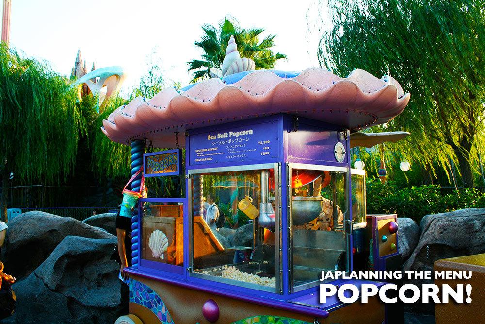 Japlanning the Menu Popcorn!