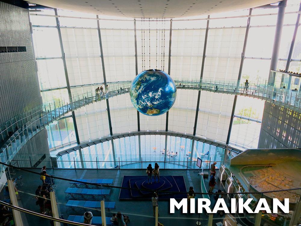 Japlanning 101 - Miraikan
