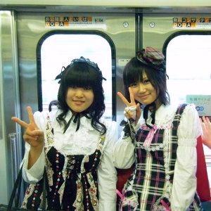 Be yourself Harajuku girls Tokyo Japan