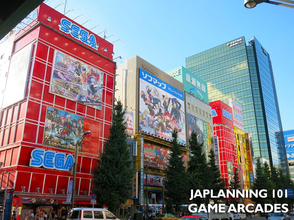 VIDEO ARCADES JAPAN