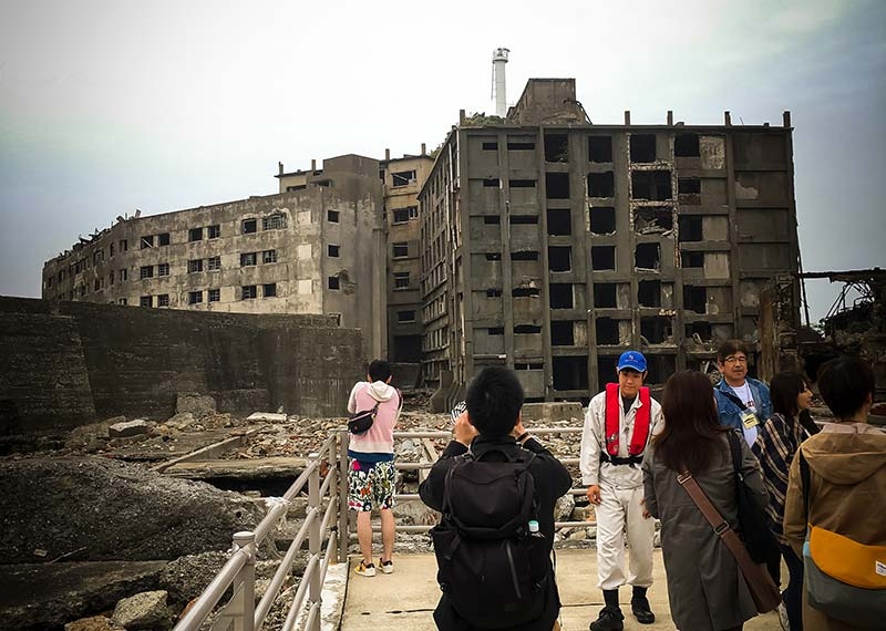 part of gunkanjima tour