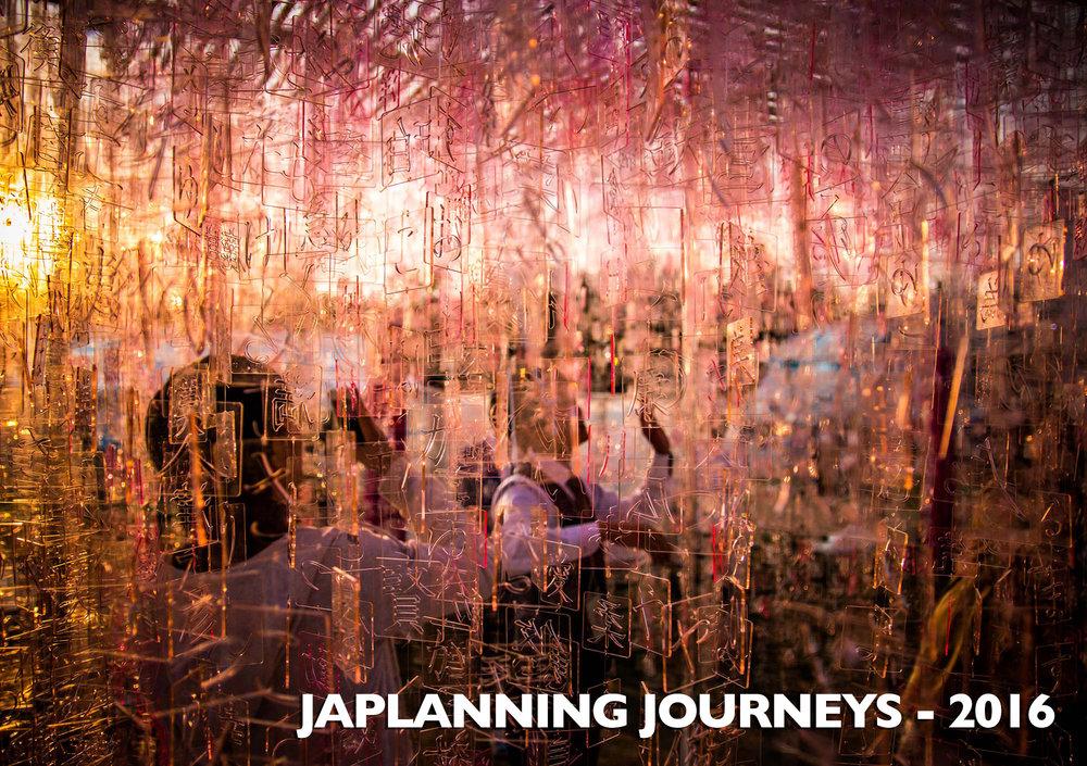 TOKYO DESIGN WEEK INSTALLATION - JAPLANNING 2016