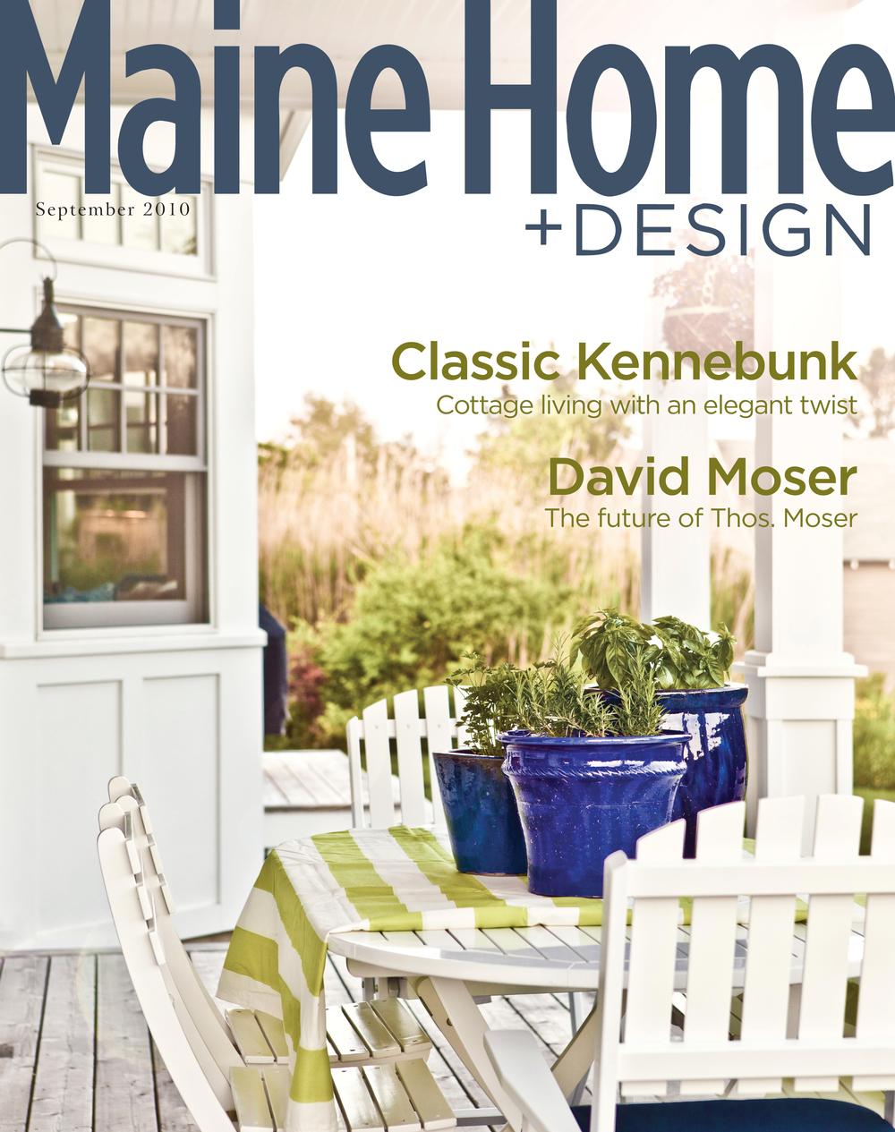 Maine Home Design Magazine Covers Jessie M Lacey