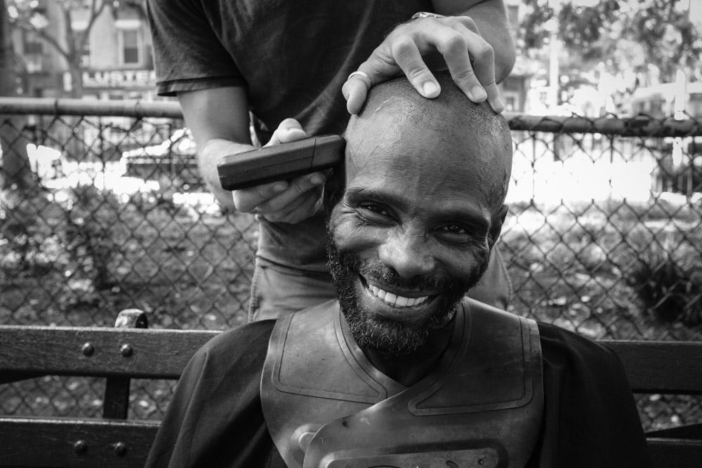 Tony #DoSomethingForNothing NYC ©Valérie Jardin