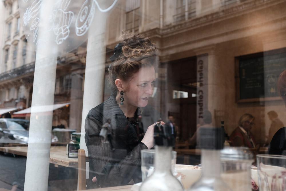Parisian Reflection ~ ©Valérie Jardin