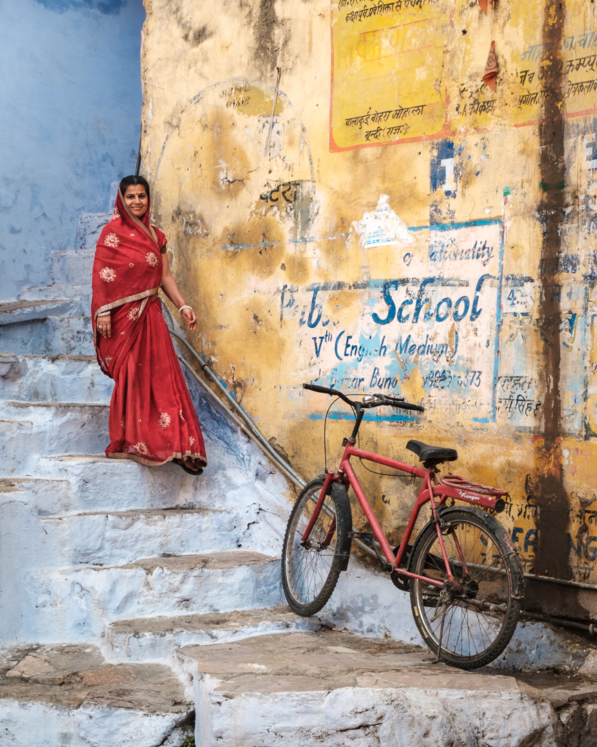 ©David Julian_INDIA, Woman in red, Bundi-21989.jpg