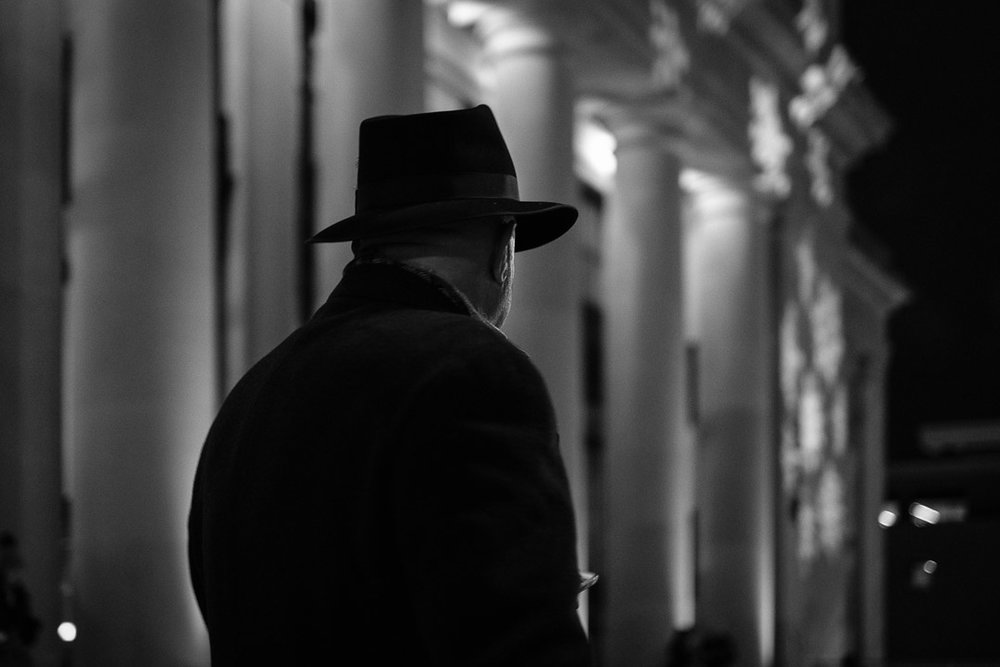 ©Valérie Jardin  Example of 'Film Noir' look in street photography for new photo challenge