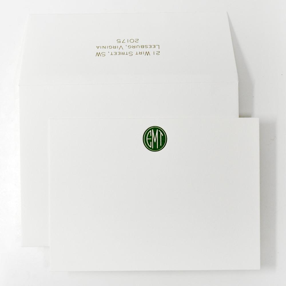 personal stationery design 40 � haute papier