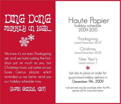 Haute_Papier_Holiday_Dates