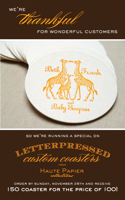 Haute_Papier_Thanksgiving_Coaster_Promo