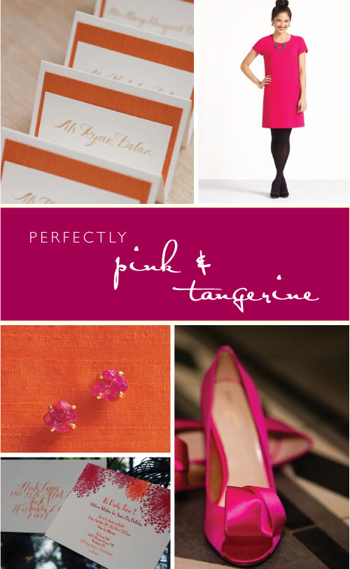 Perfectly Pink & Tangerine