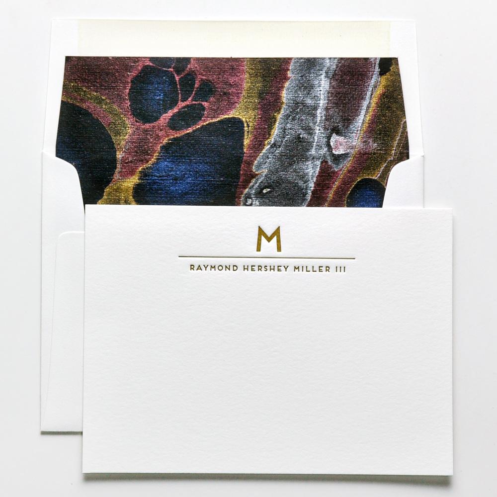 personal stationery design 58 haute papier