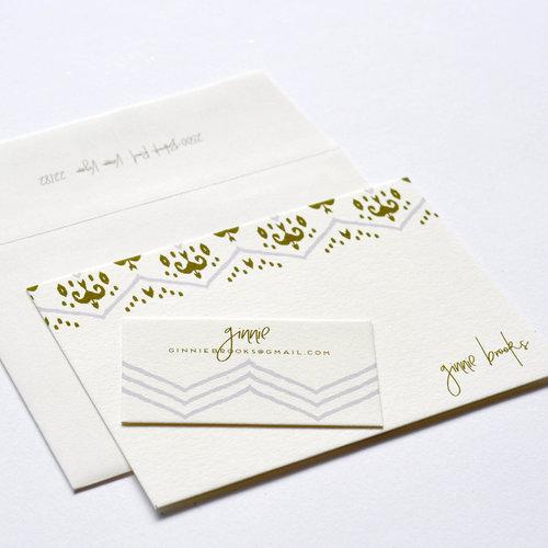 personal stationery design 73 haute papier