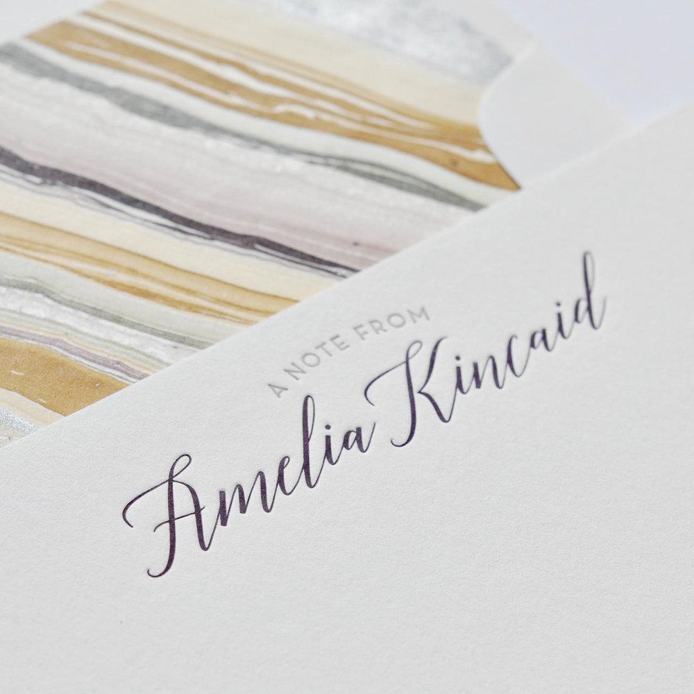 personal stationery design 75 � haute papier