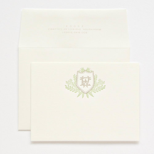 personal stationery design 91 haute papier