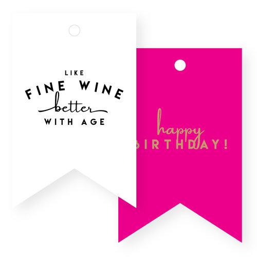 Birthday Gift Tags CNC GT LG Wine HautePapier 45x45