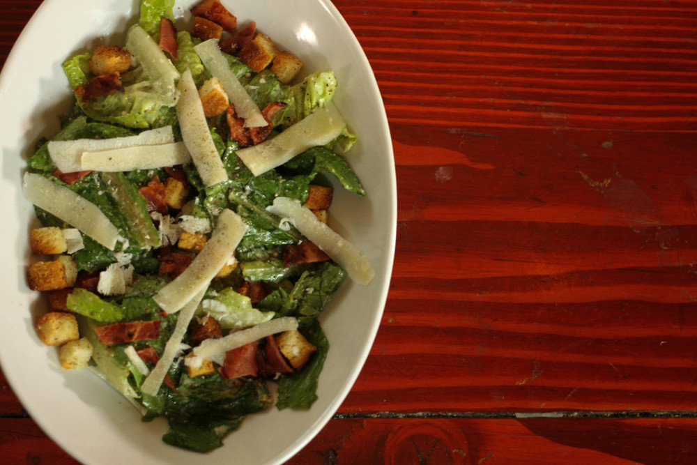 Ceasar Salad - Photo by Tia Haygood