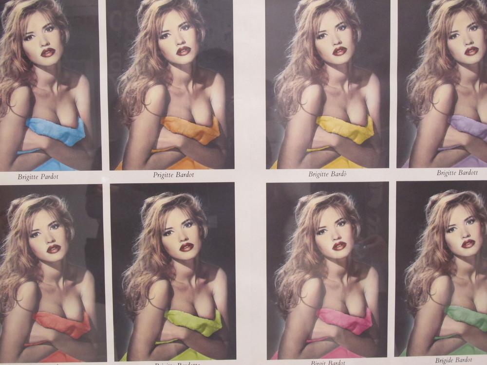 Retro Bridgette Bardot.