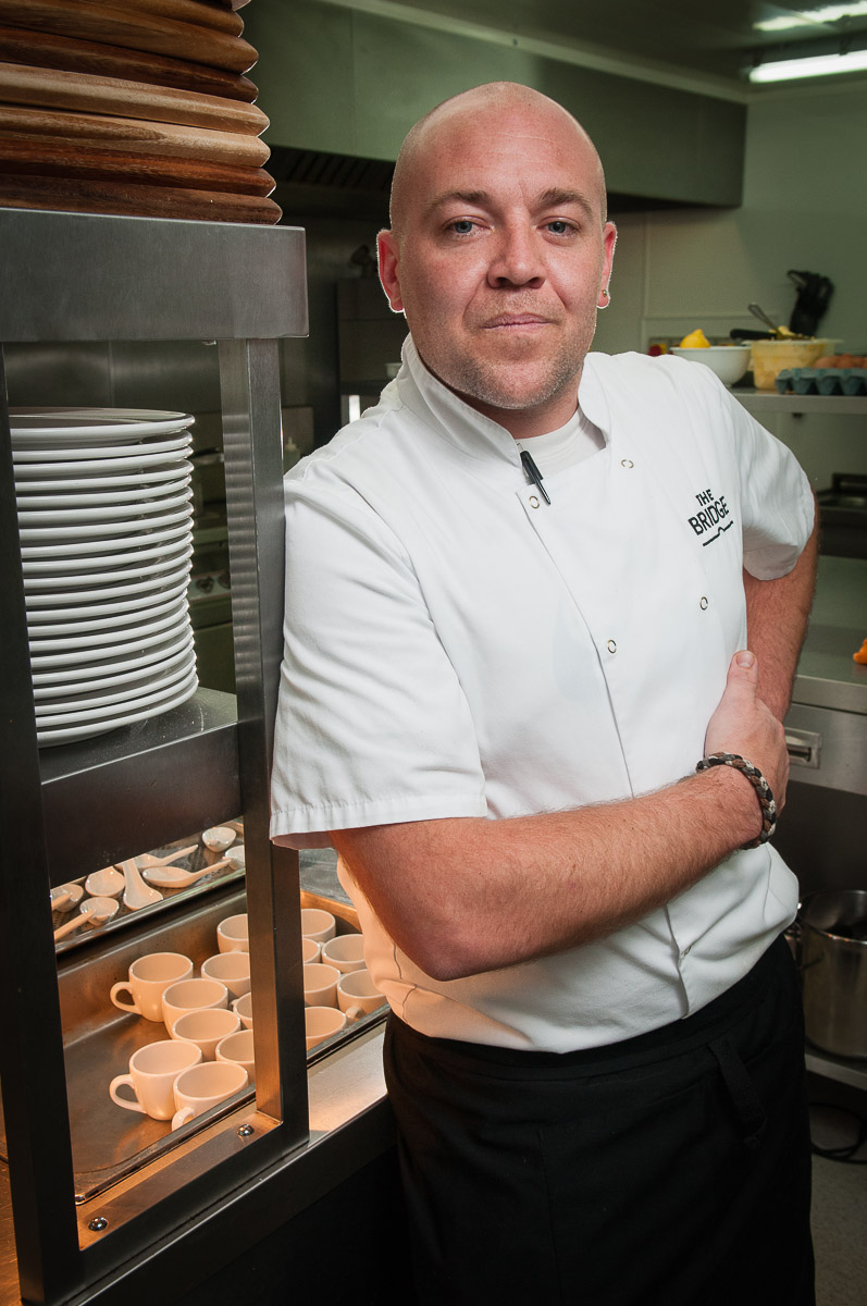 Chef at The Bridge Bistro Kirkby Thore for Cumbria Life