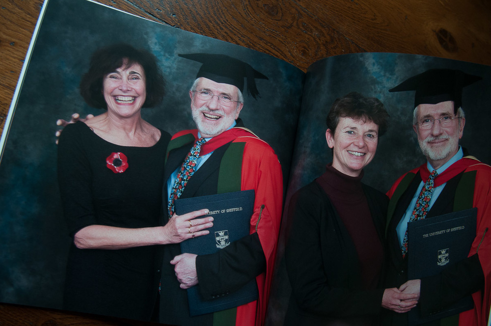 University of Sheffield's Honorary Graduate Awards. Asuka Book deigned by me for Wendy in Events