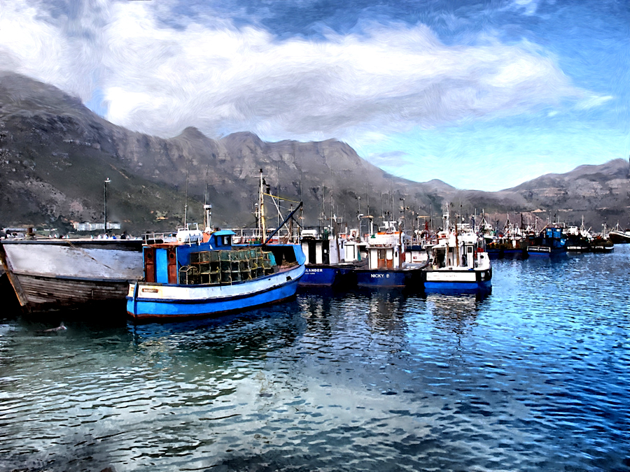 Fishing boats at Hout Bay Harbour.jpg