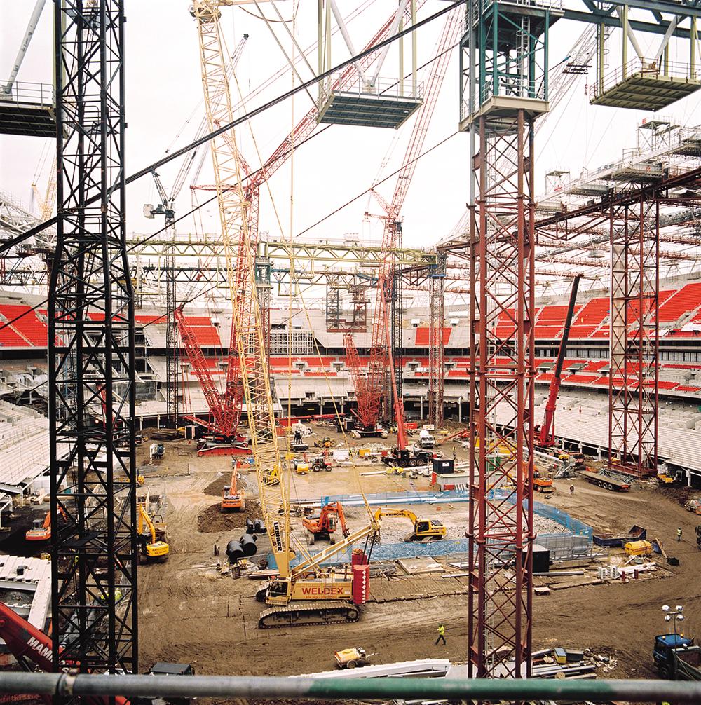 Wembley Stadium  for  UCL People magazine