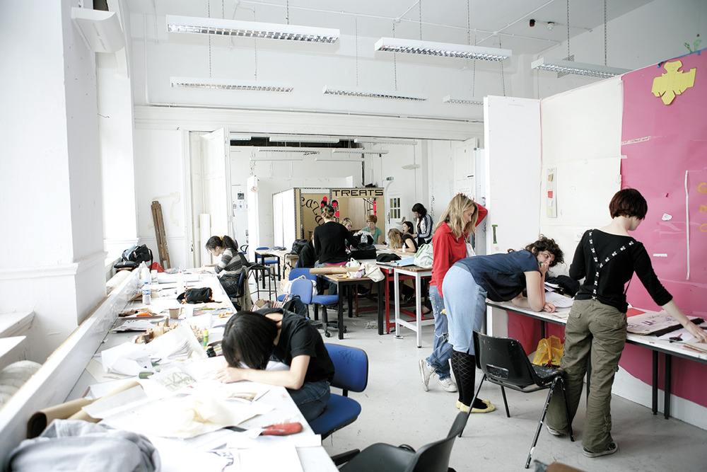 Camberwell College of Arts  For UAL Study Abroad brochure