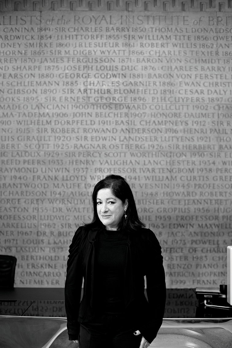 Jane Duncan  President of the Royal Institute of British Architects (RIBA)