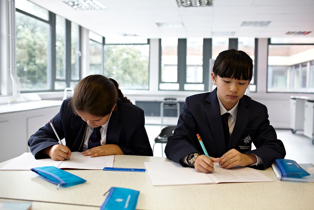 Compass School  Imagery for Southwark School prospectus and website  commissioned by Howdy