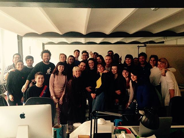 So good to meet you @losientostudio last week! Thanks for having us #universityofbrighton