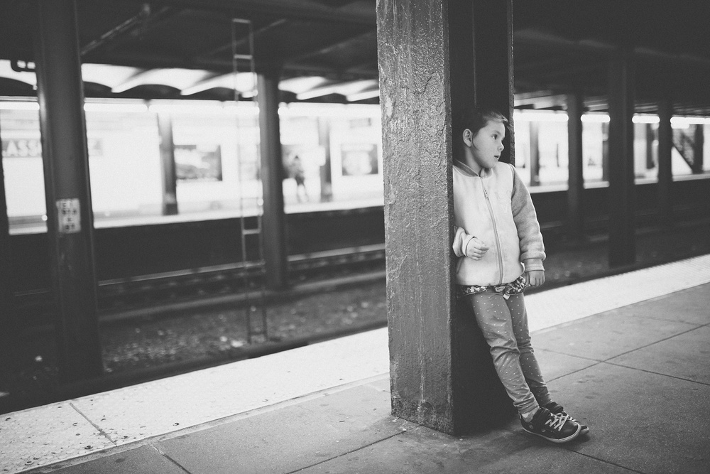 April 22nd 19/365  Waiting for the G train