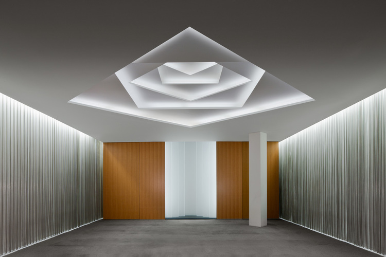 Islamic Prayer Room (2009) — BUCCHIERI ARCHITECTS