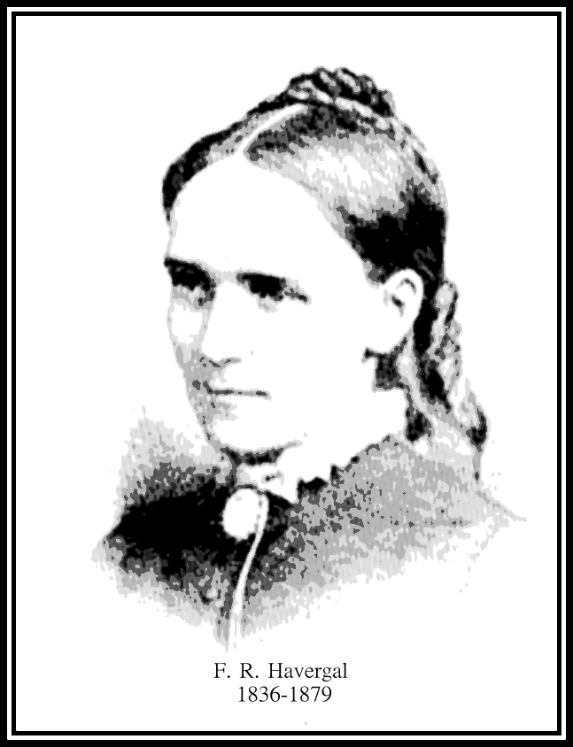 Frances Ridley Havergal 1836-1879