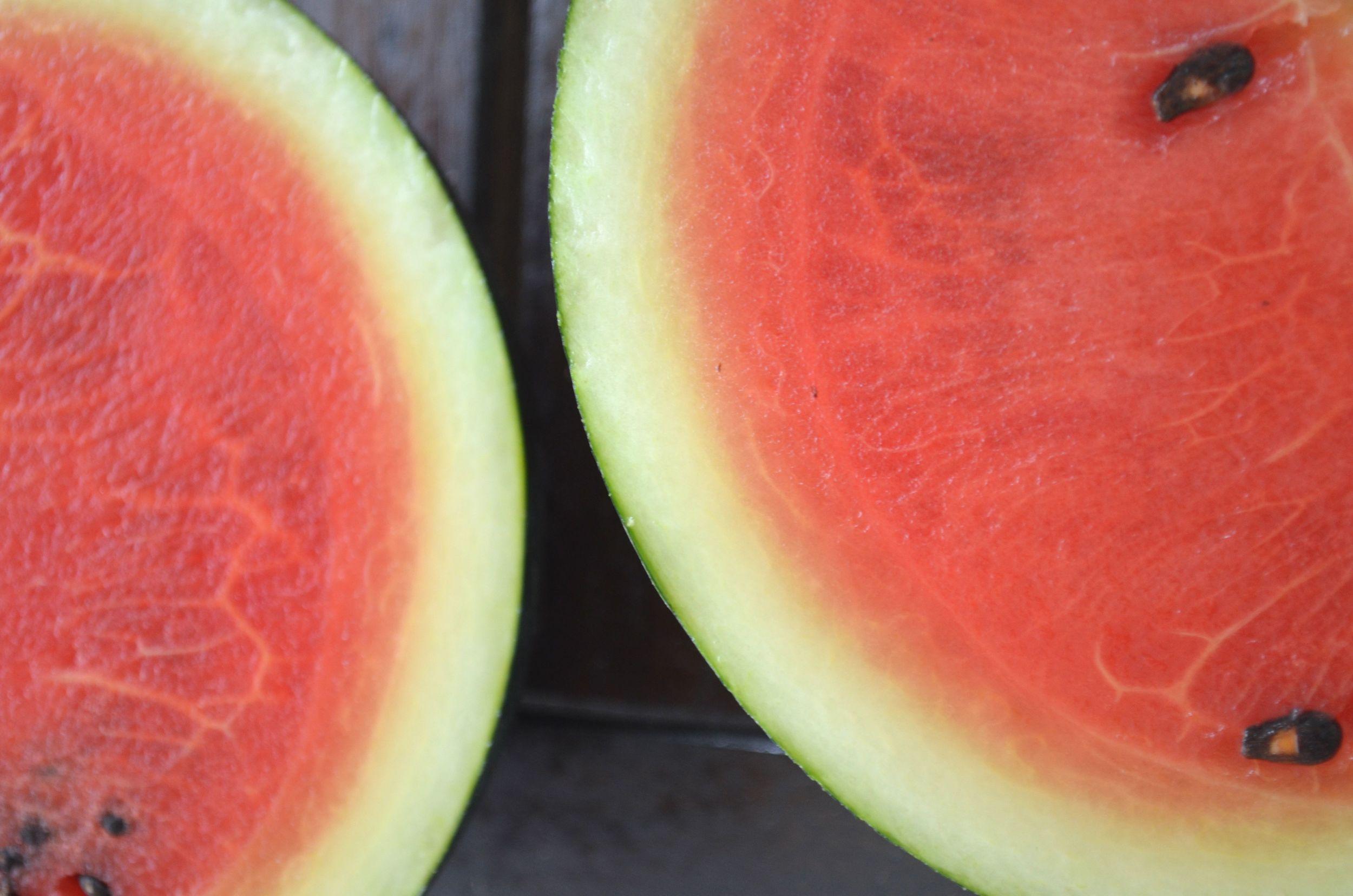 home grown watermelon
