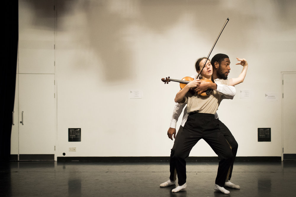 Saskia Horton & Tyrone Isaac-Stuart