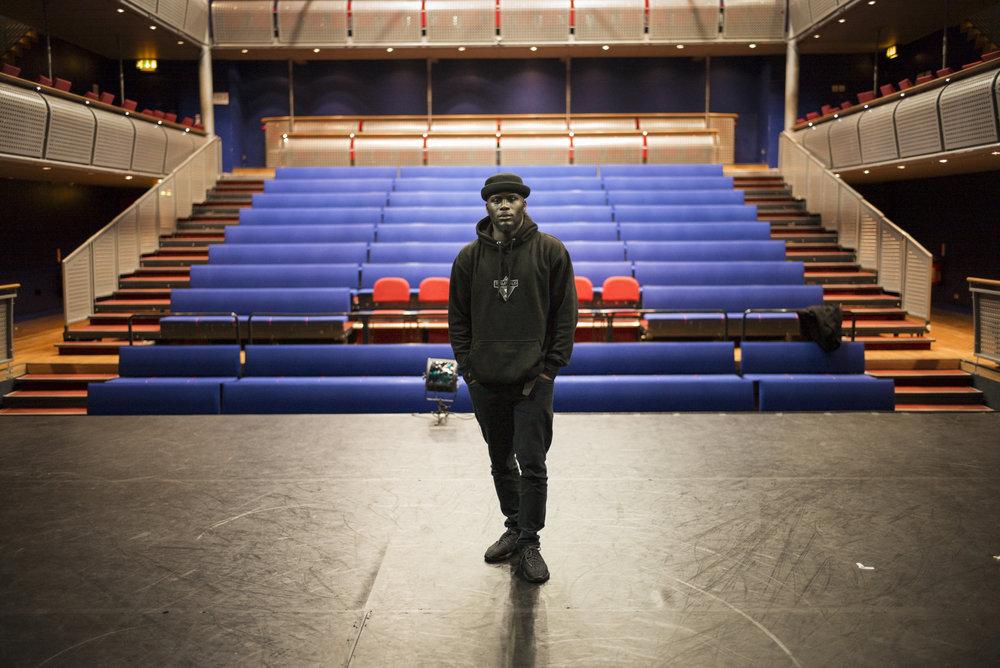 Choreographer Tony Adigun