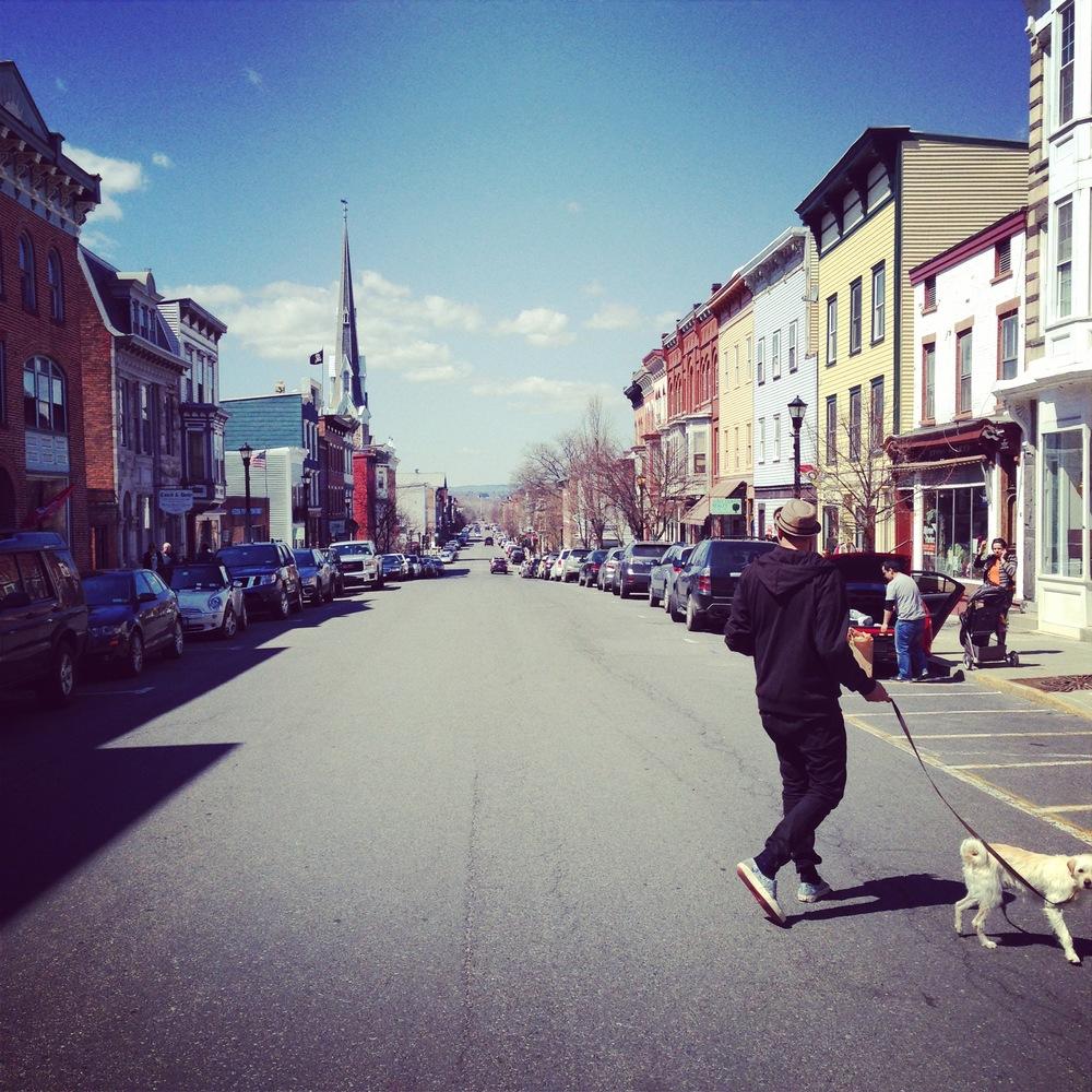 Louisa Corbett_Hudson NY_Warren Street_Spring 2014_1.JPG