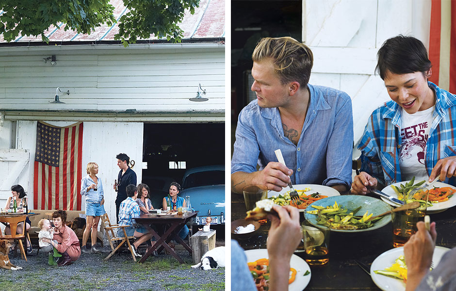 A Bumper Crop Feast in New York's Hudson Valley: Bon Appetit, August 6, 2014