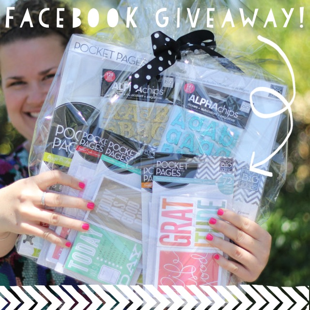 Pocket Pages Giveaway  Scrapbooking mambi me & my BIG ideas