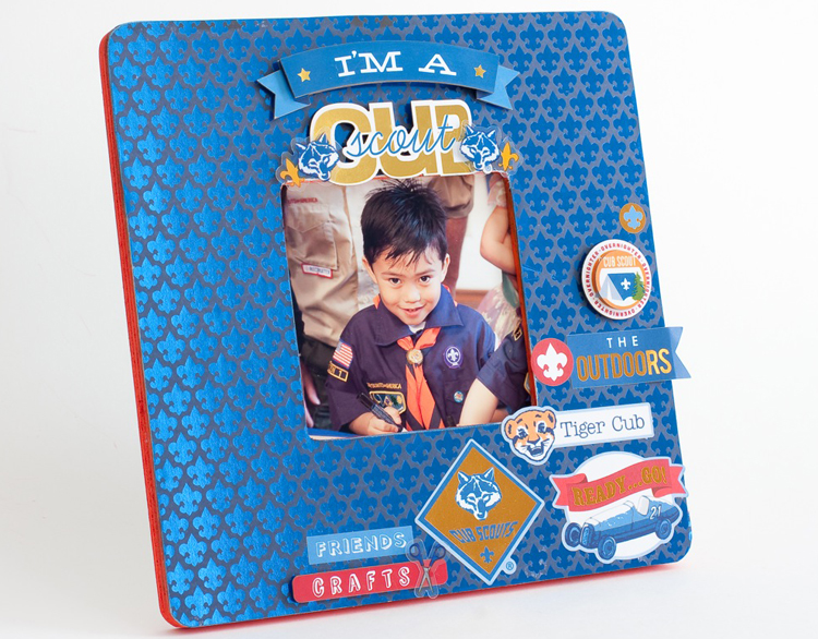 Boy Scouts scrapbooking items from me & my BIG ideas. Eagle Scout Boy Scouts Cub Scout frame crafts handmade card and scrapbook page layout blog post. http://www.scoutstuff.org mambi Boy Scouts scrapbooking items me & my BIG ideas Eagle Scout Boy Scouts Cub Scout http://www.scoutstuff.org http://www.scoutstuff.org/bsa/crafts/scrapbooking.html?p=1