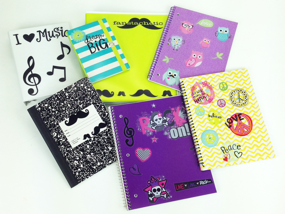 me & my BIG ideas Binder Stickers - Target - shows what you can do with the stickers, super cute.