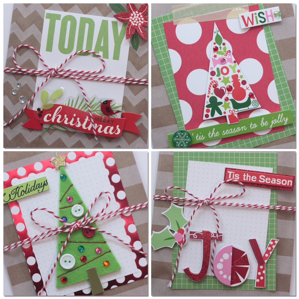 Christmas Goodie Bags With Me & My Big Ideas Pocket Pages And Soft Spoken  Embellishments