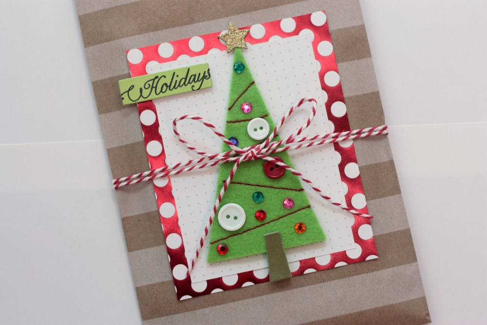 christmas goodie bags with me my big ideas pocket pages and soft spoken embellishments