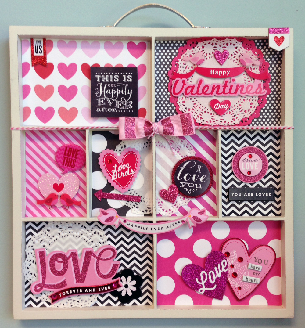 Valentine's Day Home Decor with mambi VDAY decorations.