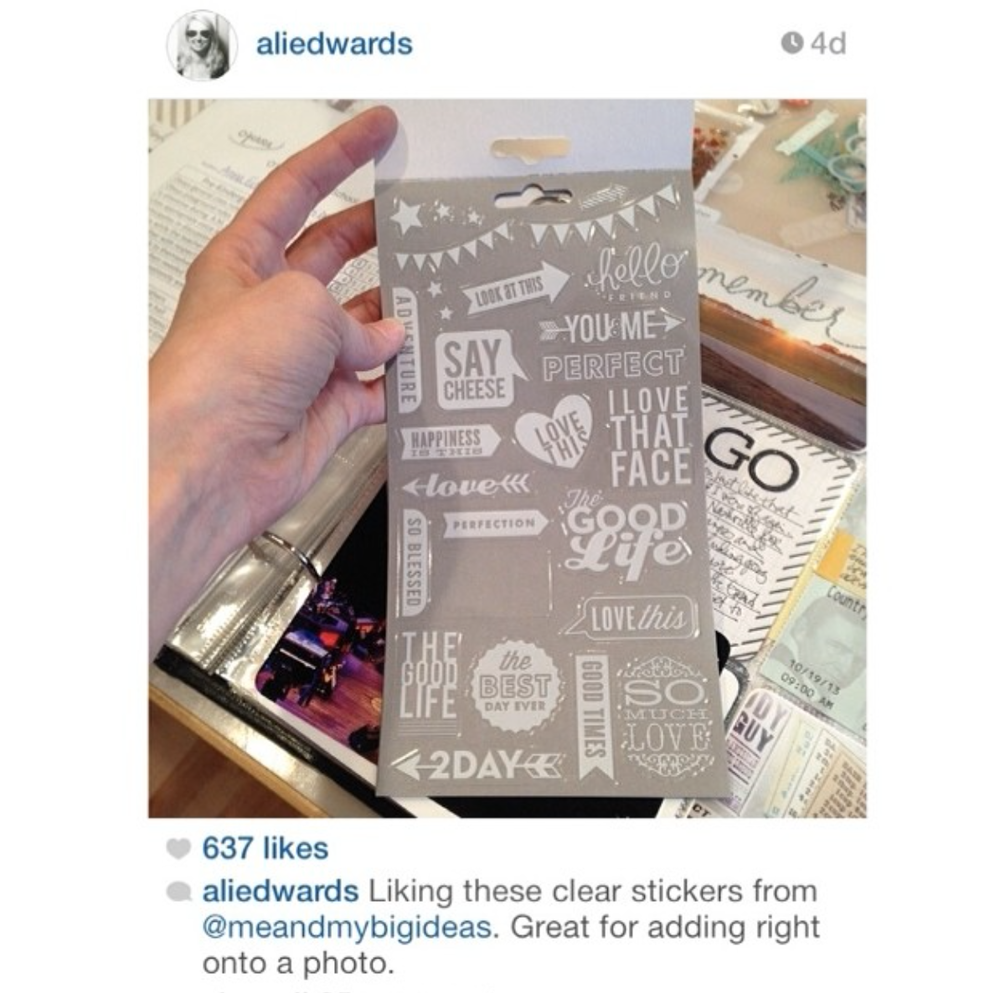 Ali Edwards loves out mambi stickers!  Scrapbooking made easy!.png
