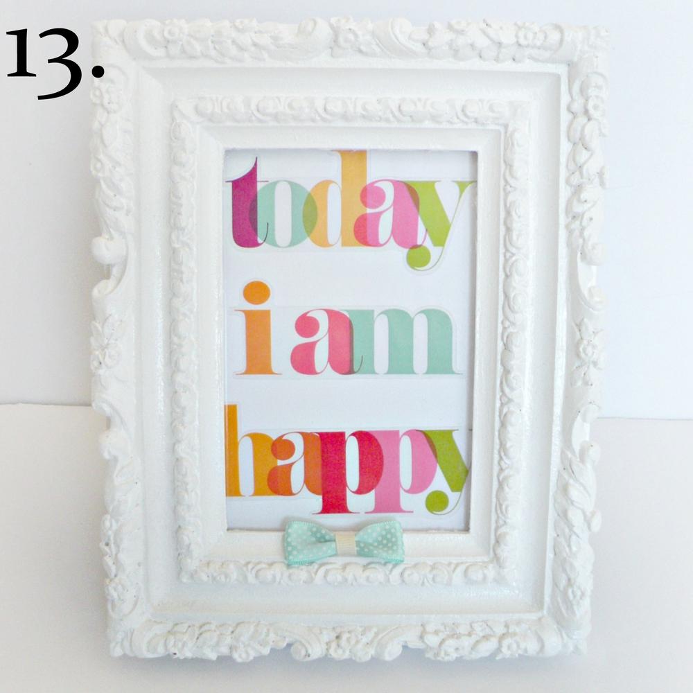 13. Today I am happy mambi sticker framed..jpg