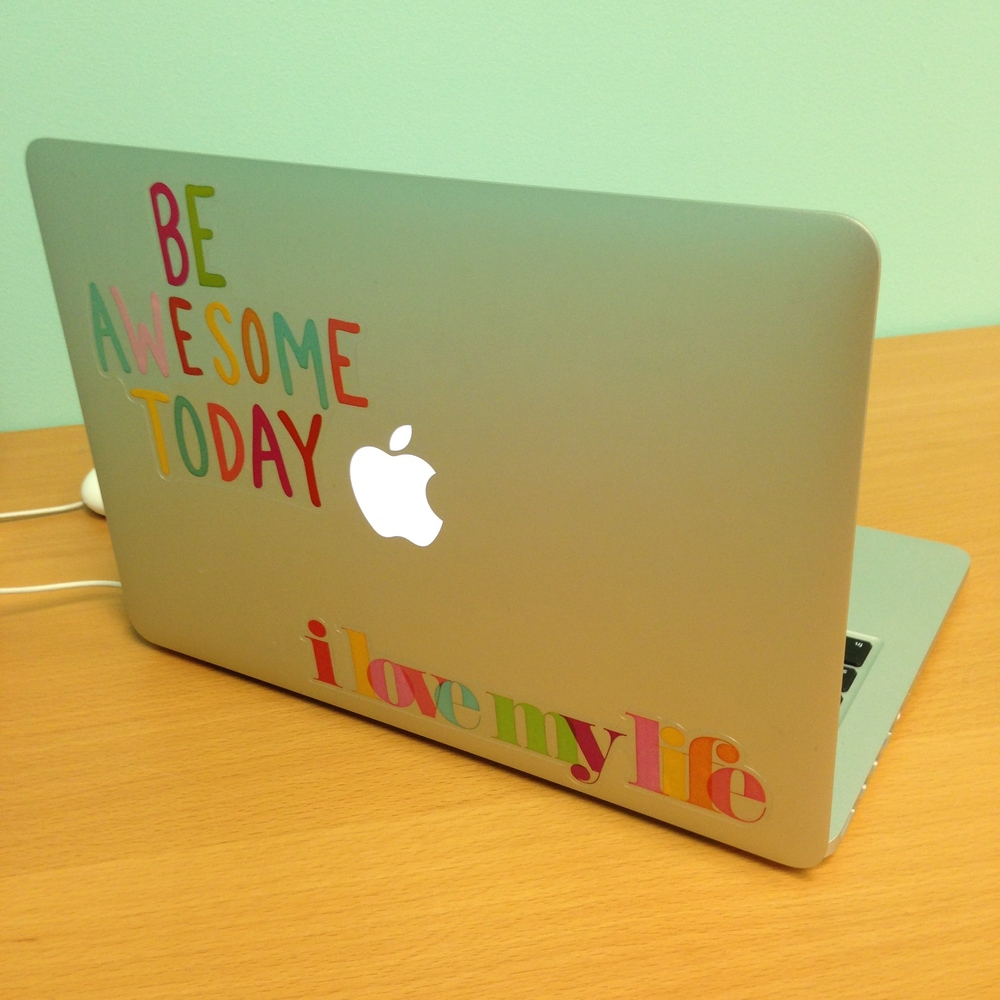 Be Awesome Today - Michaels just released the new mambi jumbo stickers. So cute on laptops.  PC or MAC! .jpg