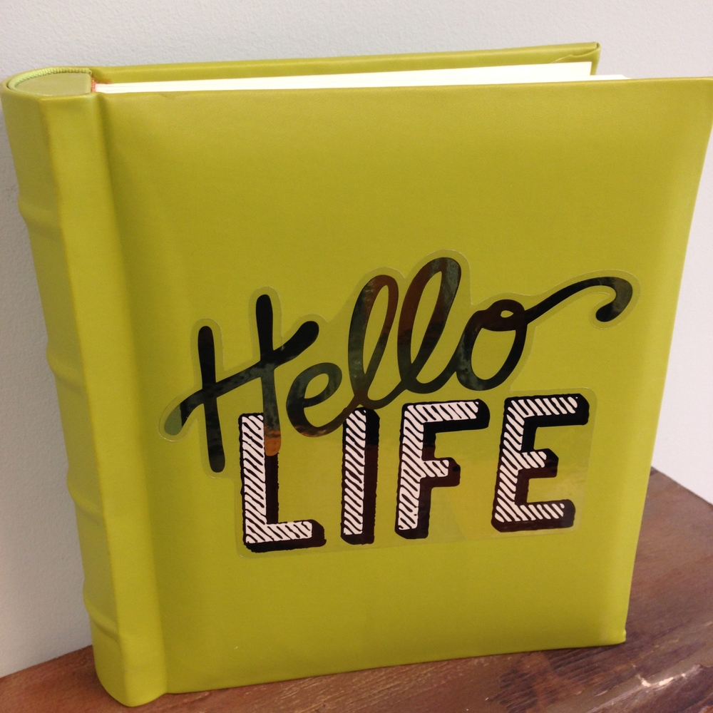 Hello Life mambi JUMBO sticker on album. .jpg