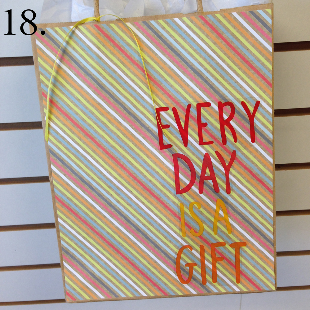 18. Every Day is a Gift Giftbag with mambi jumbo stickers that just came to Michaels. copy.jpg